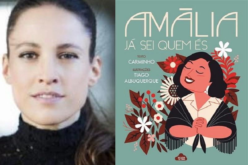 Carminho conta história de Amália Rodrigues num livro para crianças