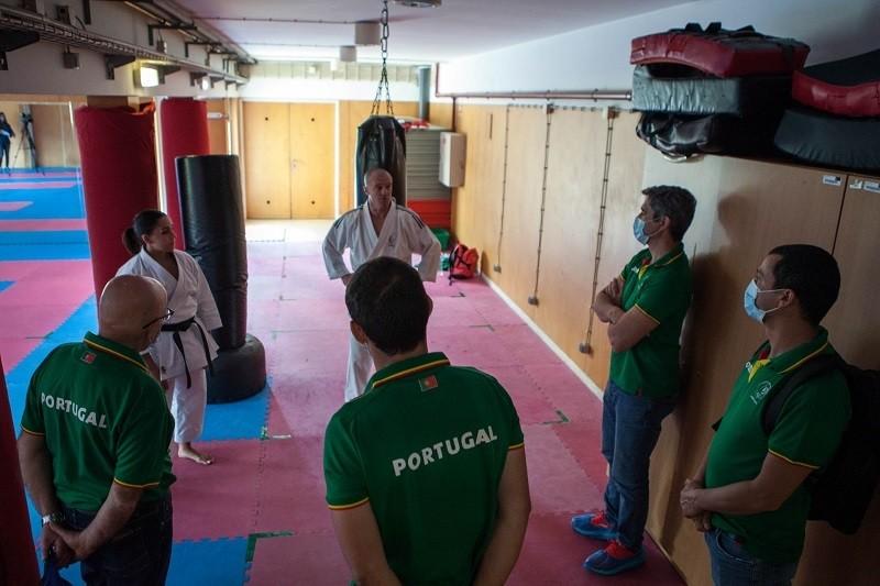 Comité Olímpico de Portugal visita Complexo Desportivo da UMinho