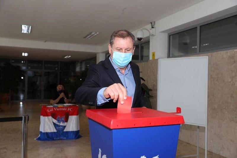 Francisco Dias da Silva reconduzido com unanimidade na presidência do Gil Vicente