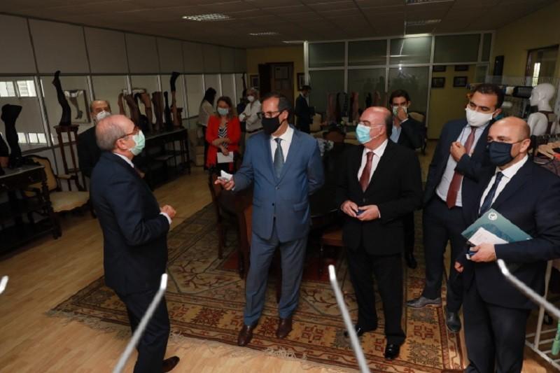 Secretário de Estado Adjunto e da Economia visita empresa de Barcelos