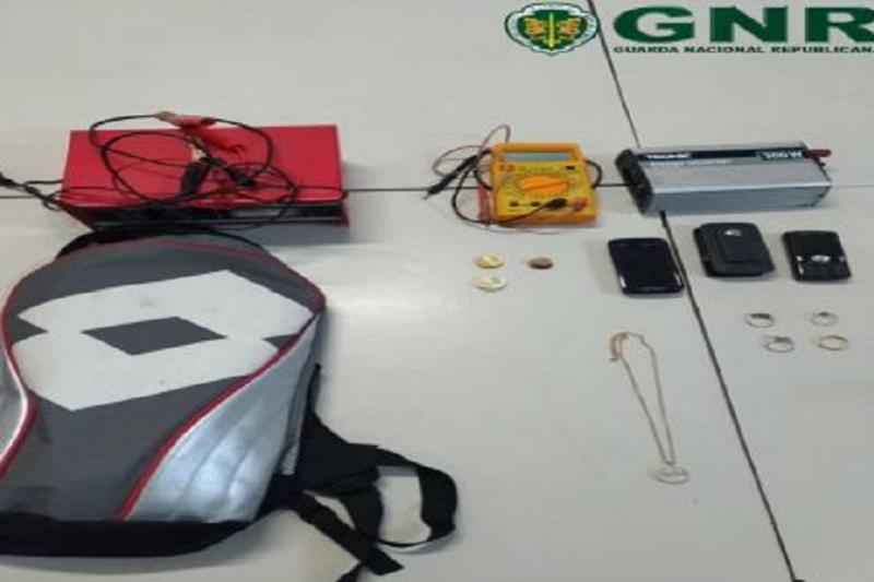 Famalicão: GNR deteve suspeito de furto em residência