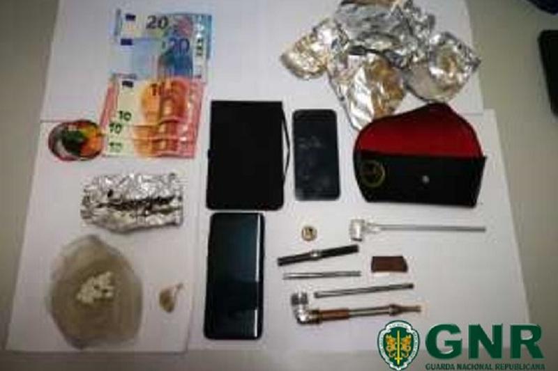 GNR deteve dois suspeitos de tráfico de droga