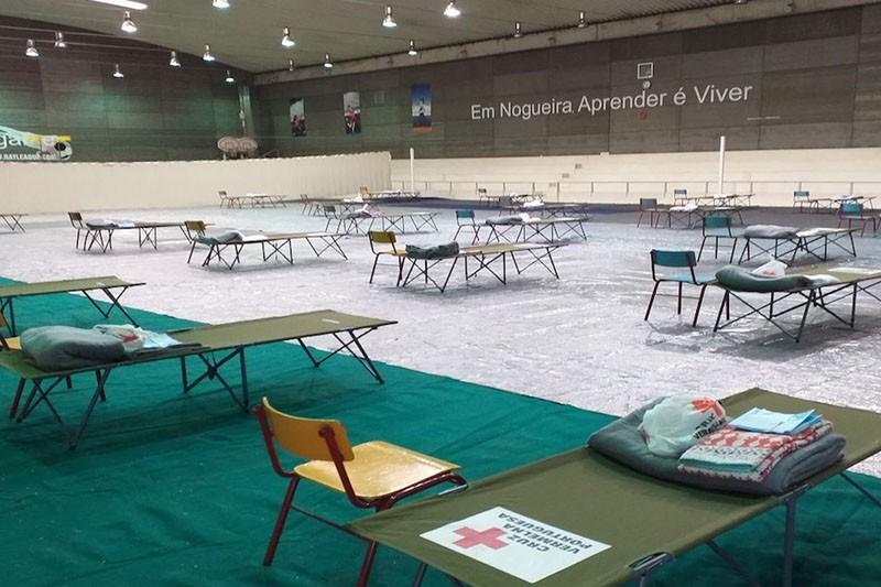 Pavilhão de Nogueira aberto até final do mês