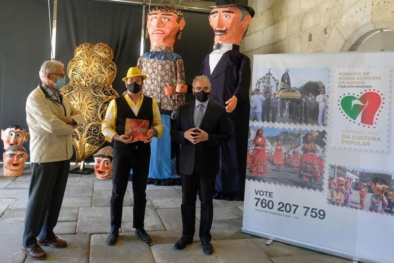 Augusto Canário é padrinho de candidatura da Romaria dAgonia às 7 Maravilhas da Cultura Popular