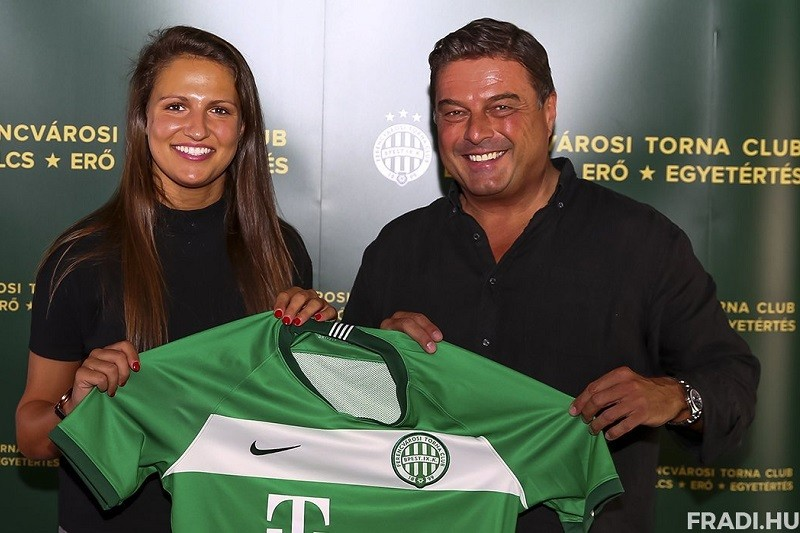 Futebolista internacional portuguesa Vanessa Marques assina pelo Ferencváros