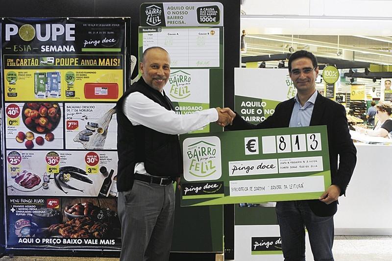 Iniciativa Bairro Feliz do Pingo Doce apoia Biblioteca no Parque de Guadalupe