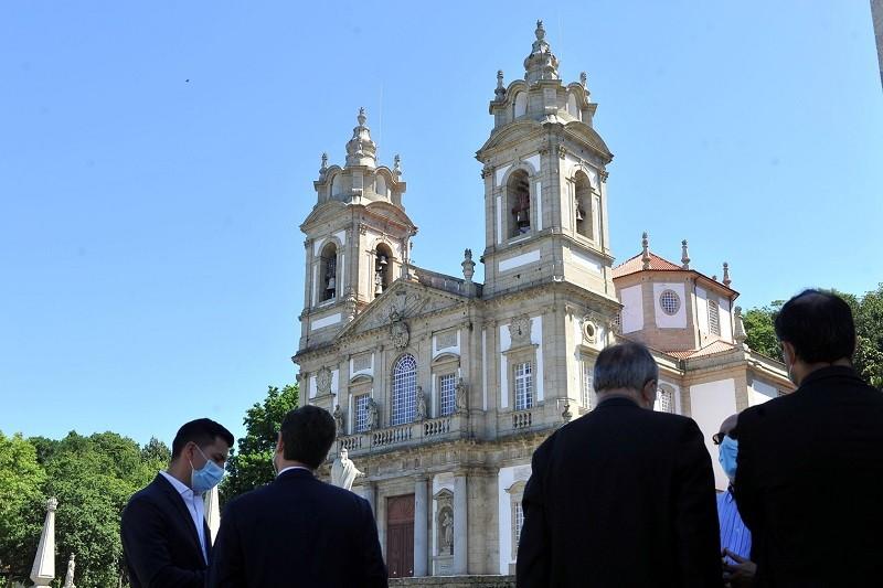 Santuário do Bom Jesus do Monteassinala um ano de Património Mundial