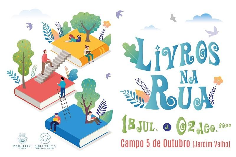 BARCELOS: Câmara promove livros na Rua para estimular leitura e comércio local
