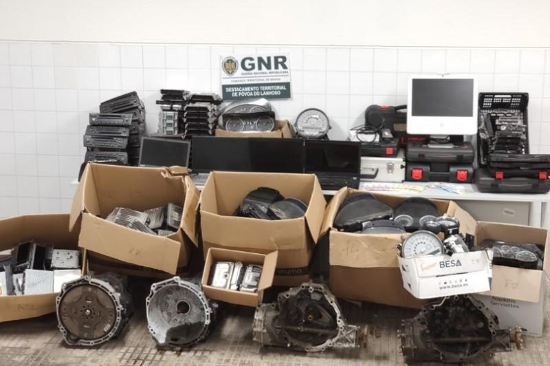 Póvoa de Lanhoso  Recuperação de material automóvel furtado