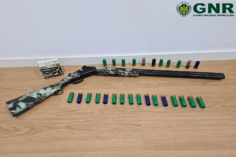 Celorico de Basto  Detido por posse ilegal de arma