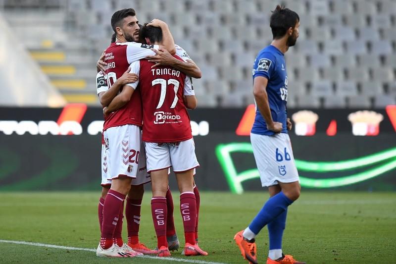 Belenenses empata em Braga e ganha terreno na fuga à despromoção