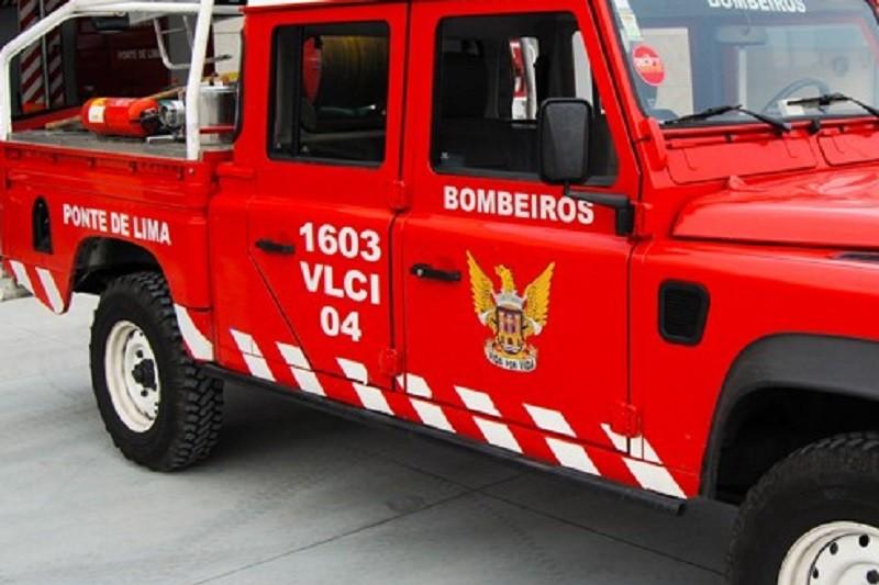 Incêndios: Fogo dominado em Ponte de Lima