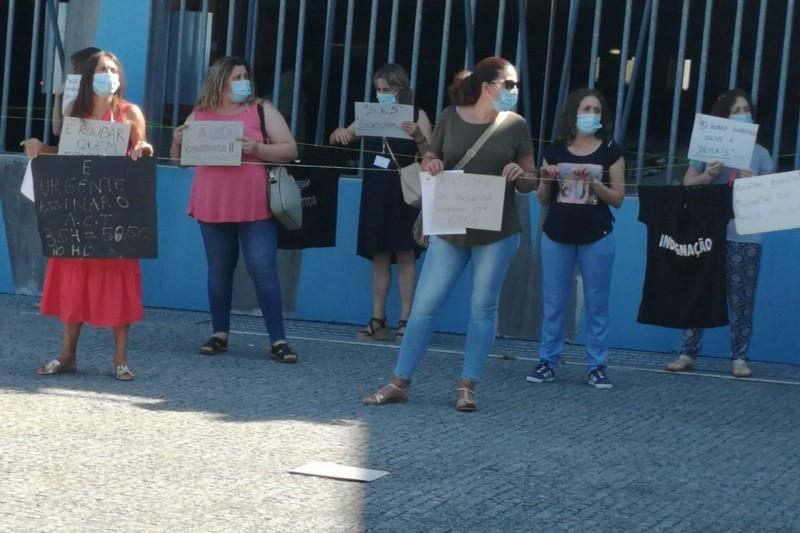 Trabalhadores do Hospital de Braga em greve contra discriminação salarial