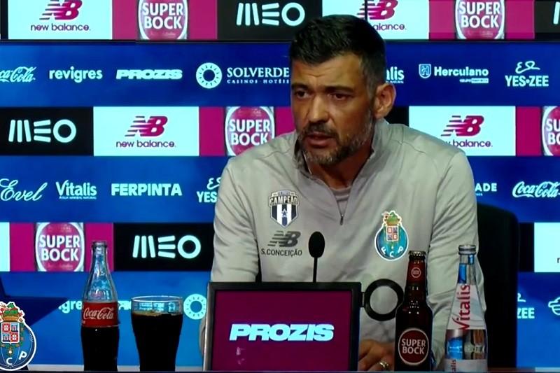 Sérgio Conceição sem poupanças para Taça de Portugal frente ao Sporting Clube de Braga