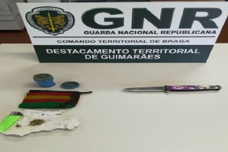 Detido por posse de arma proibida em Guimarães