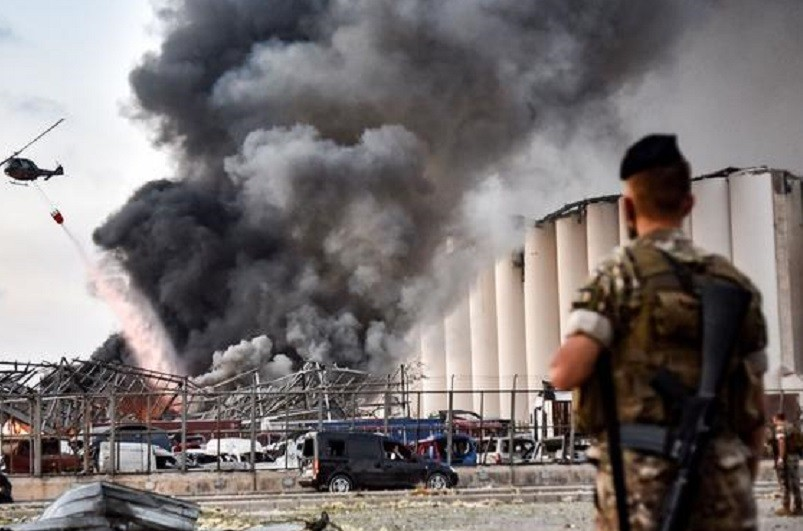 Beirute/Explosões: Mais de uma centena de mortos e 4.000 feridos - Cruz Vermelha