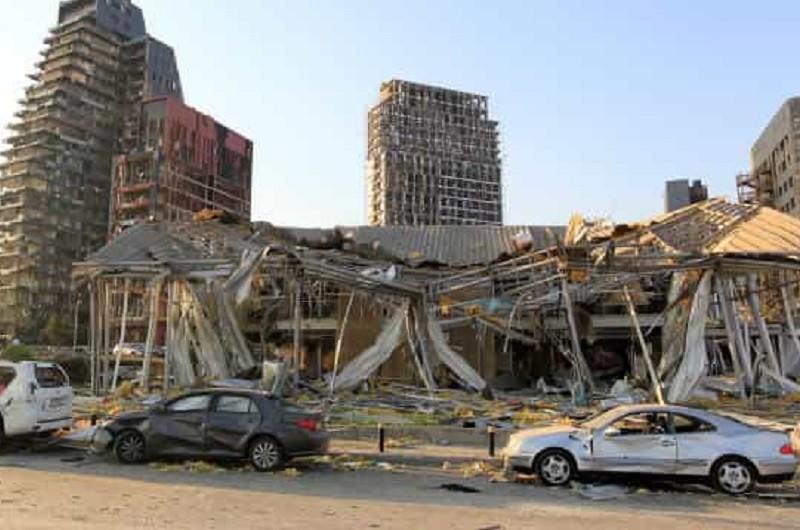 Beirute/Explosões: Até 300.000 pessoas ficaram sem casa - governador